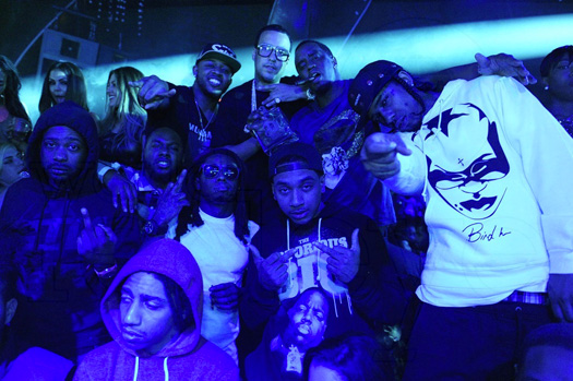 Lil Wayne Parties At STORY Nightclub With Jay-Z, Drake, Flow, French Montana & More