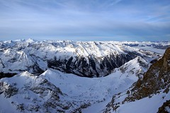 WeatherMaker posted a photo:	... the backside of the Kitzsteinhorn.Seen from the ridge above the Maurerlift.