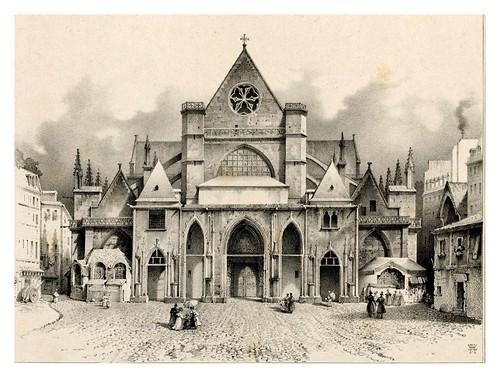 005-Souvenir du vieux Paris…1835- L.T. Turpin de Crissé- Institut National d'histoire de l'art- INHA