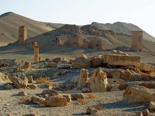 Las tumbas de Palmira (Siria)