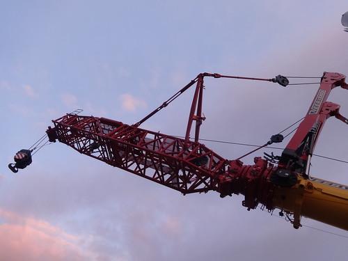 2013 Raupenteleskopkran LTR 11200 von Liebherr in Ehingen bei Fa. NEEB & SCHUCH Ziegelsdorfer Weg in 39291 Reesen