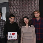 Live at WFUV, 1/10/14. Photo by Oliver Beardsley