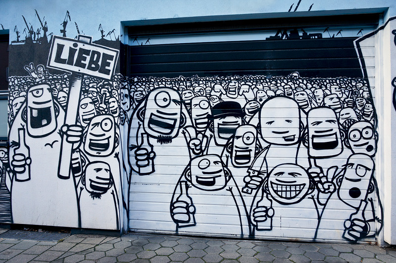 Street Art Graffiti Rebelzer Freaks