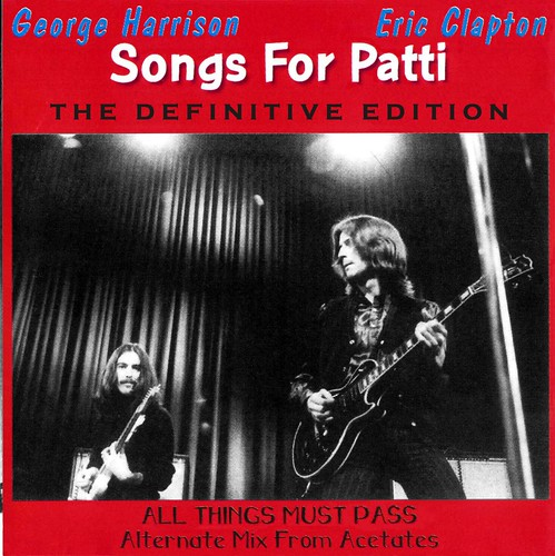 George Harrison - Songs For Patti (Definitive Edition) - front gatefold