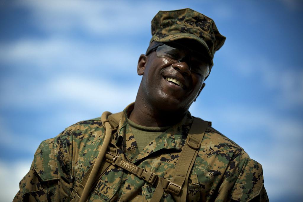 USMC camouflage Maxwell McCan
