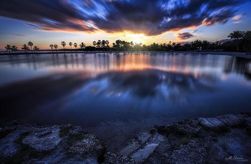 longexposure sunset digital palms rocks florida miami hdr coralgables biscaynebay mathesonhammock dsrl cs6 atollpool mariohouben mhoubenphotography eoscanon6d