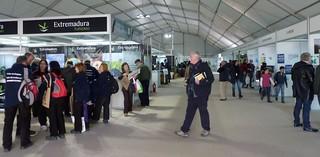 La Feria lleva numerosos interesados hasta Monfragüe.