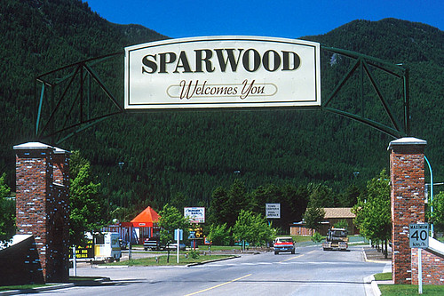Sparwood, Elk Valley, BC Rockies, Kootenay Rockies, British Columbia, Canada