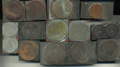 Whitman coin printign blocks