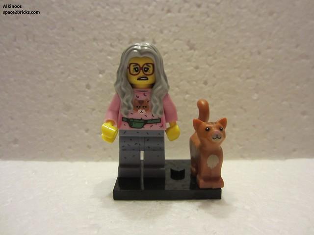 Minfig série 12 La dame au chat