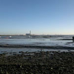 A view from The Strand across the river medway towards the now closed Kingsnorth power station [shared]