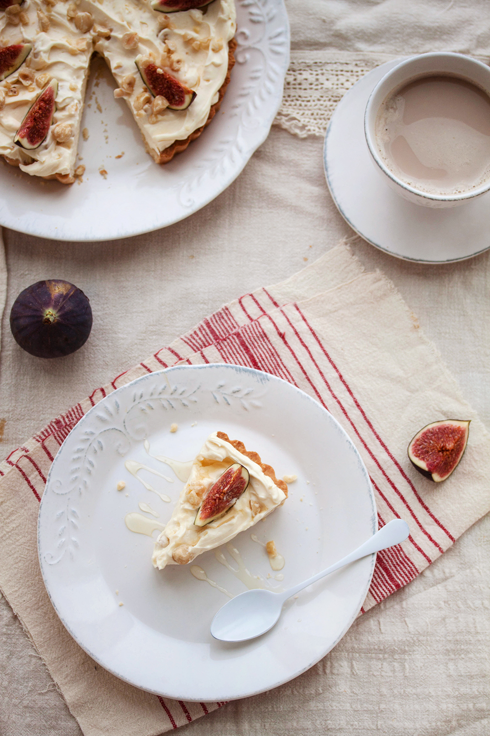 mascarpone fig tart