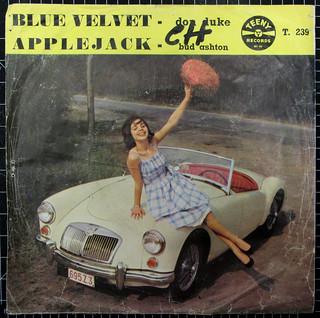 Blue Velvet - Don Duke ~ (RJFC collage LXXIX)