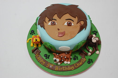 Superb Diego Cake Beautiful Birthday Cakes Personalised Birthday Cards Epsylily Jamesorg