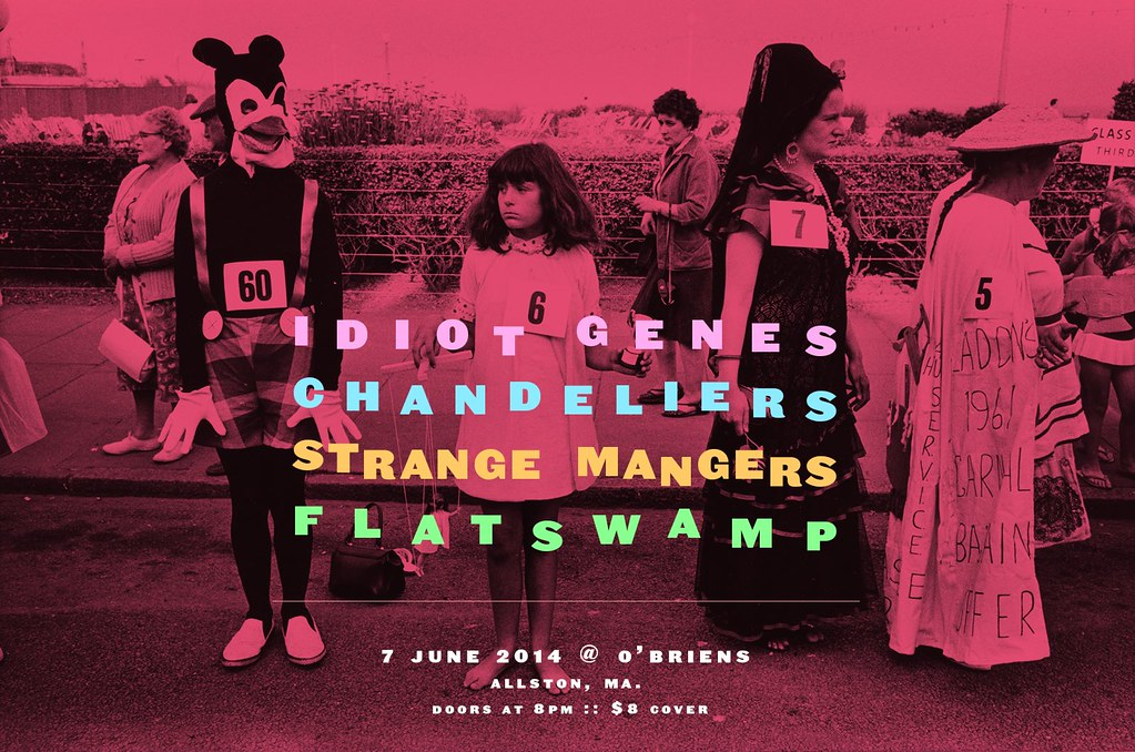 Idiot Genes, Chandos, Flat Swamp, Strange Mangers | O'Brien's Pub | 7 June