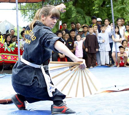 Liên hoan Quốc tế Võ cổ truyền Việt Nam lần thứ 4: Giao lưu võ thuật với các võ đường