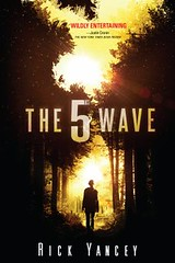 The 5th Wave by Rick Yancey book cover.
