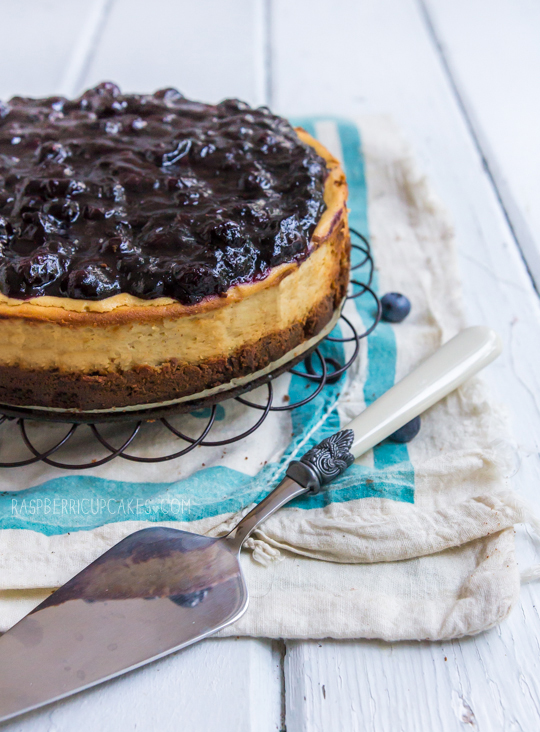 Maple & Blueberry Cheesecake