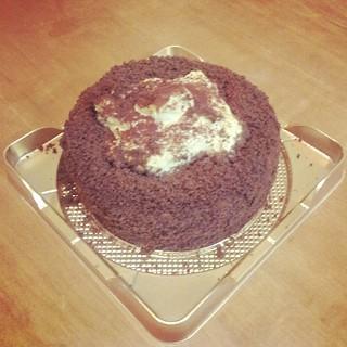 レアチーズケーキ!旨かったー!幸せ。