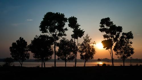 sunset nature nikon day dusk clear d3000