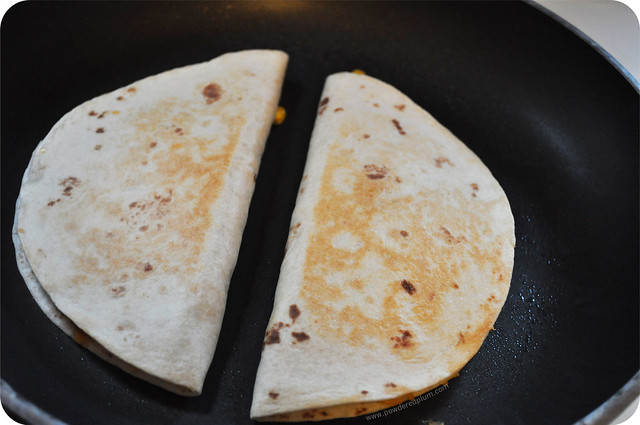 Sweet Potato Quesadillas - Grill