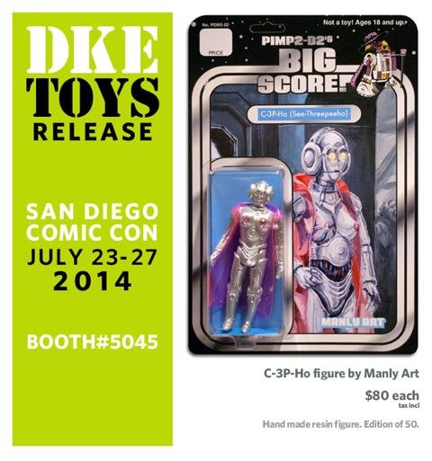 SDCC DKE Toys C-3P-Ho Promo