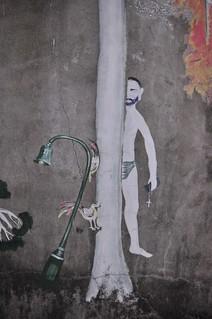 20140419-李明則在碾米場牆壁的畫作3-1