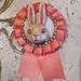 pink bunny brooch