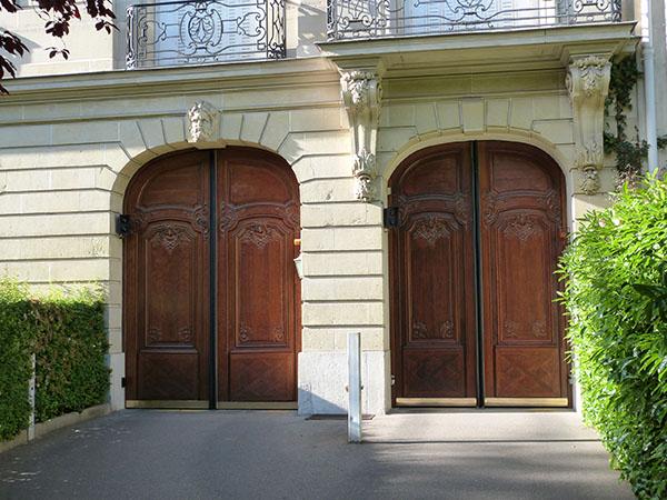 deux portes