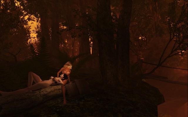 Marika relaxing