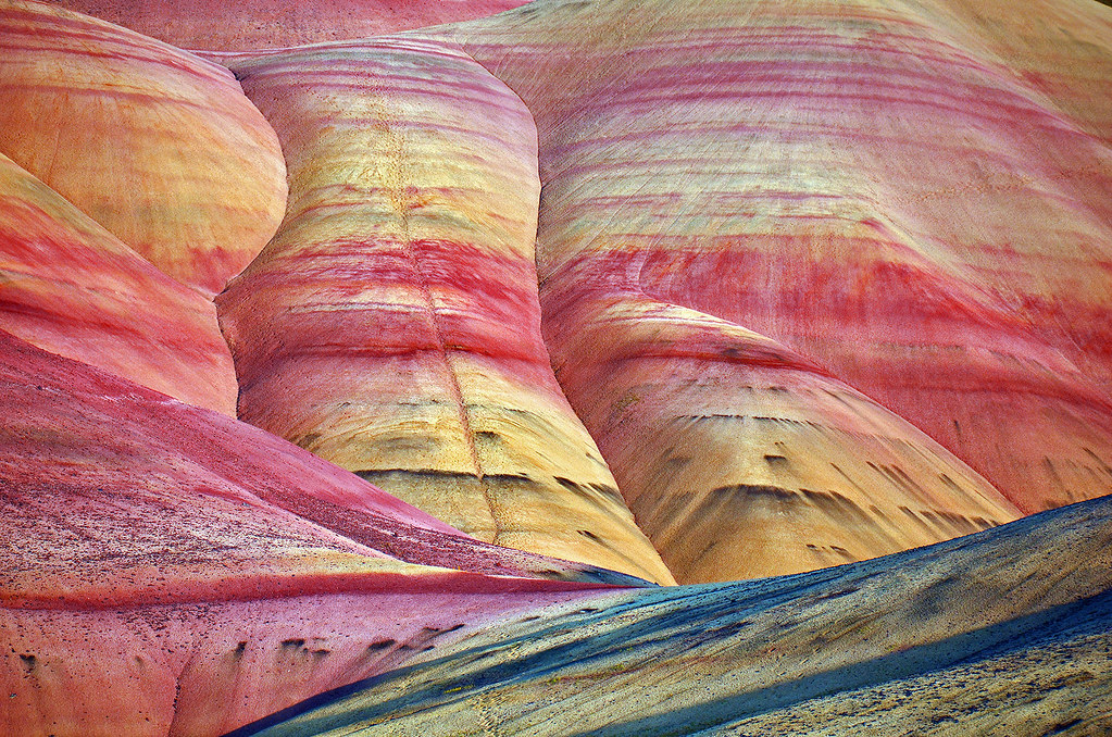 painted hills 1860 - explored