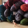 It was a good week for yarn deliveries! Now to find a place to store the goodies. #100happydays