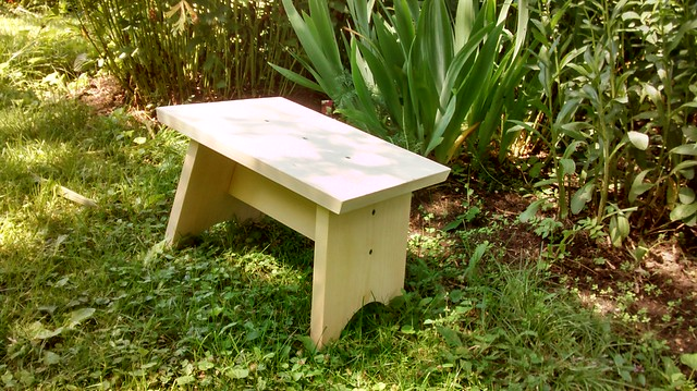 Quick and Dirty Gardening Stool