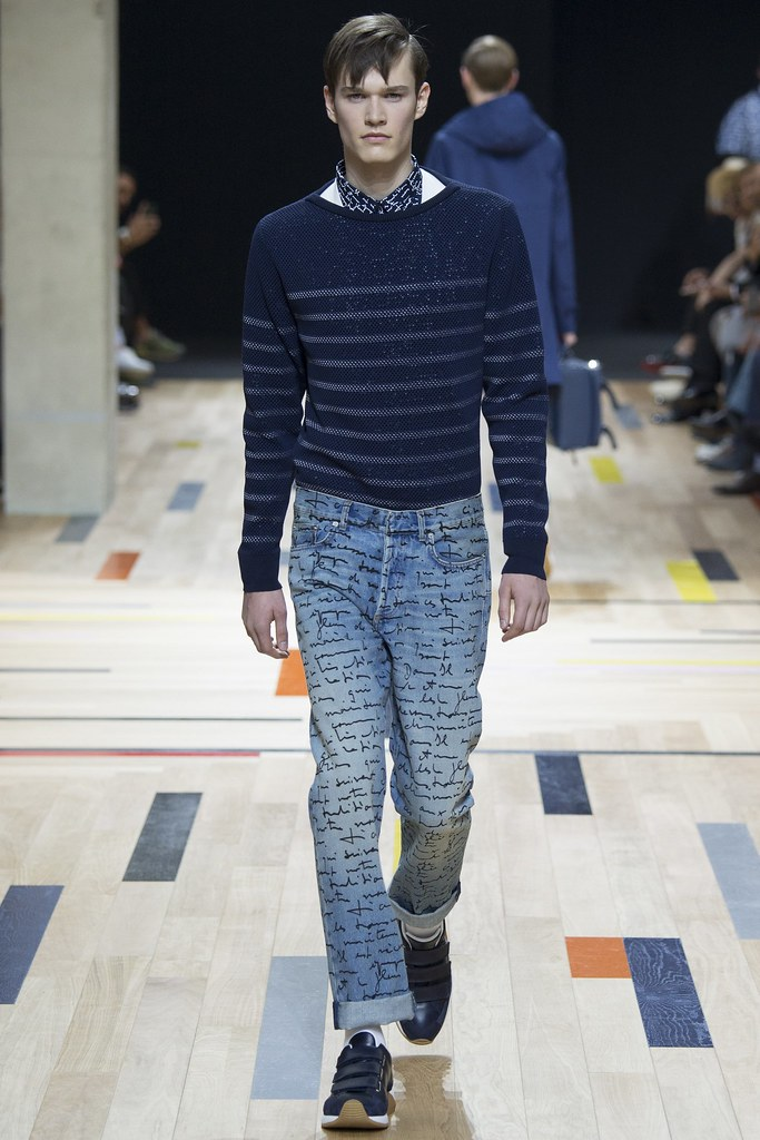 SS15 Paris Dior Homme030_Charles Markham(VOGUE)