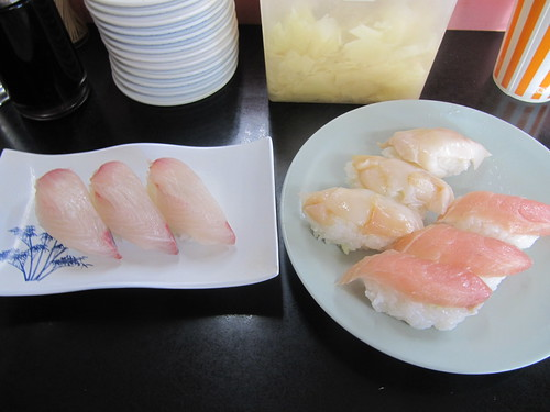 金沢競馬場の寿司