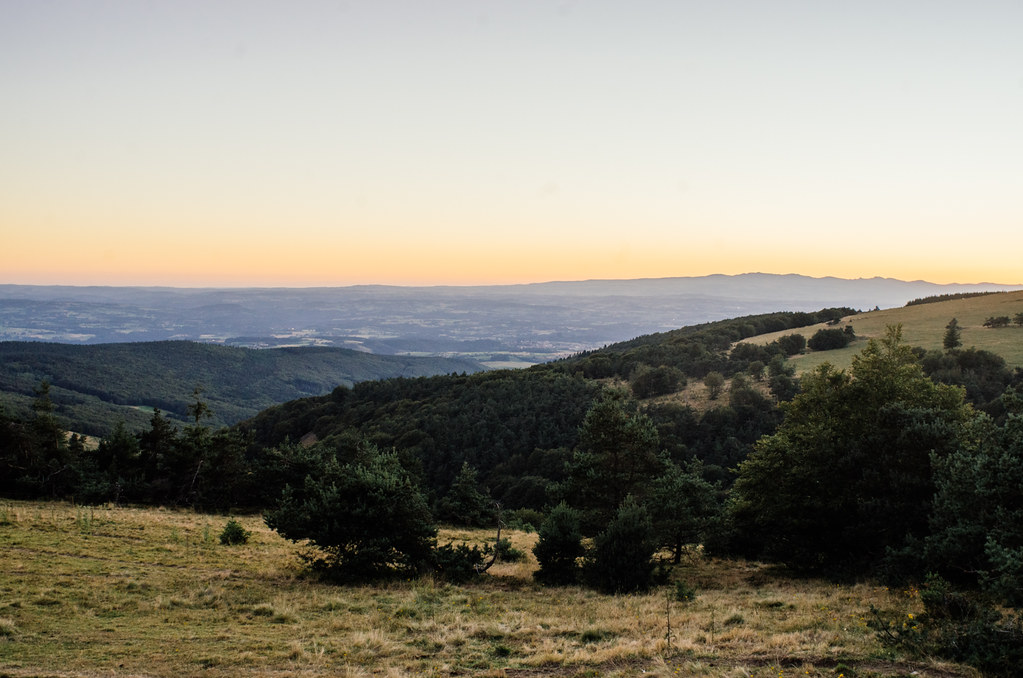 La grande traversee du massif central - carnet de voyage France
