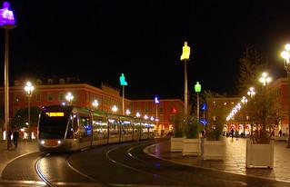 Image of Place Masséna near Nice. nice southoffrance cotedazure frenchriviera nikond802016dsc1169