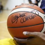 Virginia Raggi visita il Santa Lucia Basket