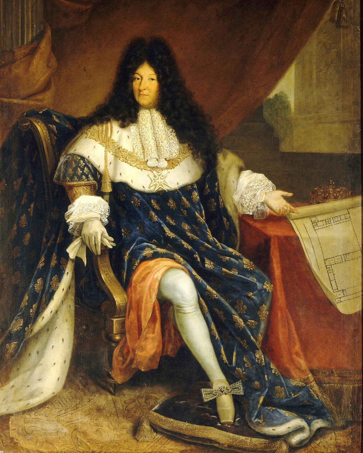 Louis XIV of France by Nicolas-René Jollain Le Vieux