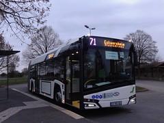 Solaris Urbino 18 IV n°5000  -  Strasbourg CTS - Ligne 71