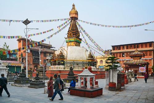 Nepal - Kathmandu - Drupgon Jangchup Choeling Stupa - 1