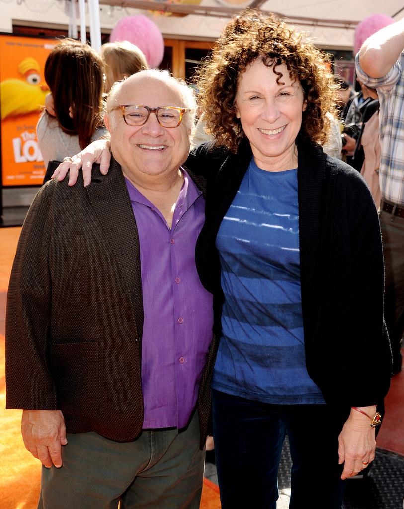 Фото Дэнни Де Вито и жены