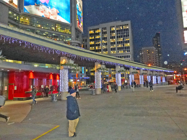 Yonge and Dundas Square.