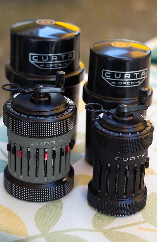 Type II and Type I Curta