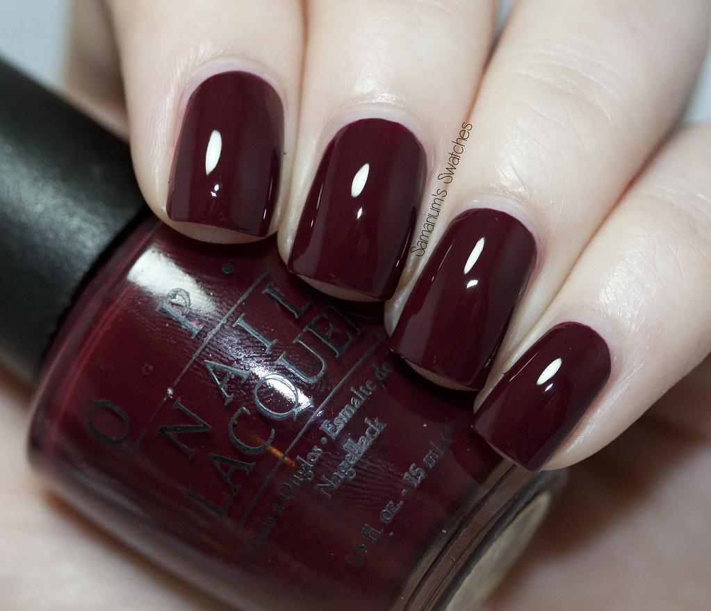 Dark Red Nail Polish Names- HireAbility