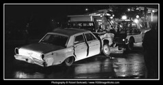 1973-Summer - Accident, South Oyster Bay Road, Plainview, NY