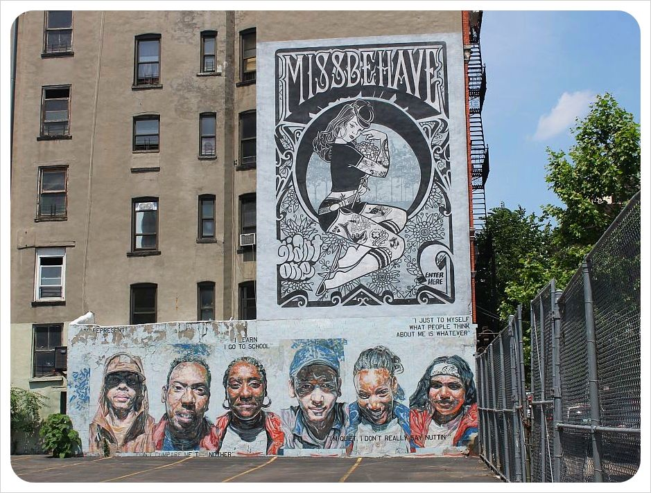 east village graffiti new york mural