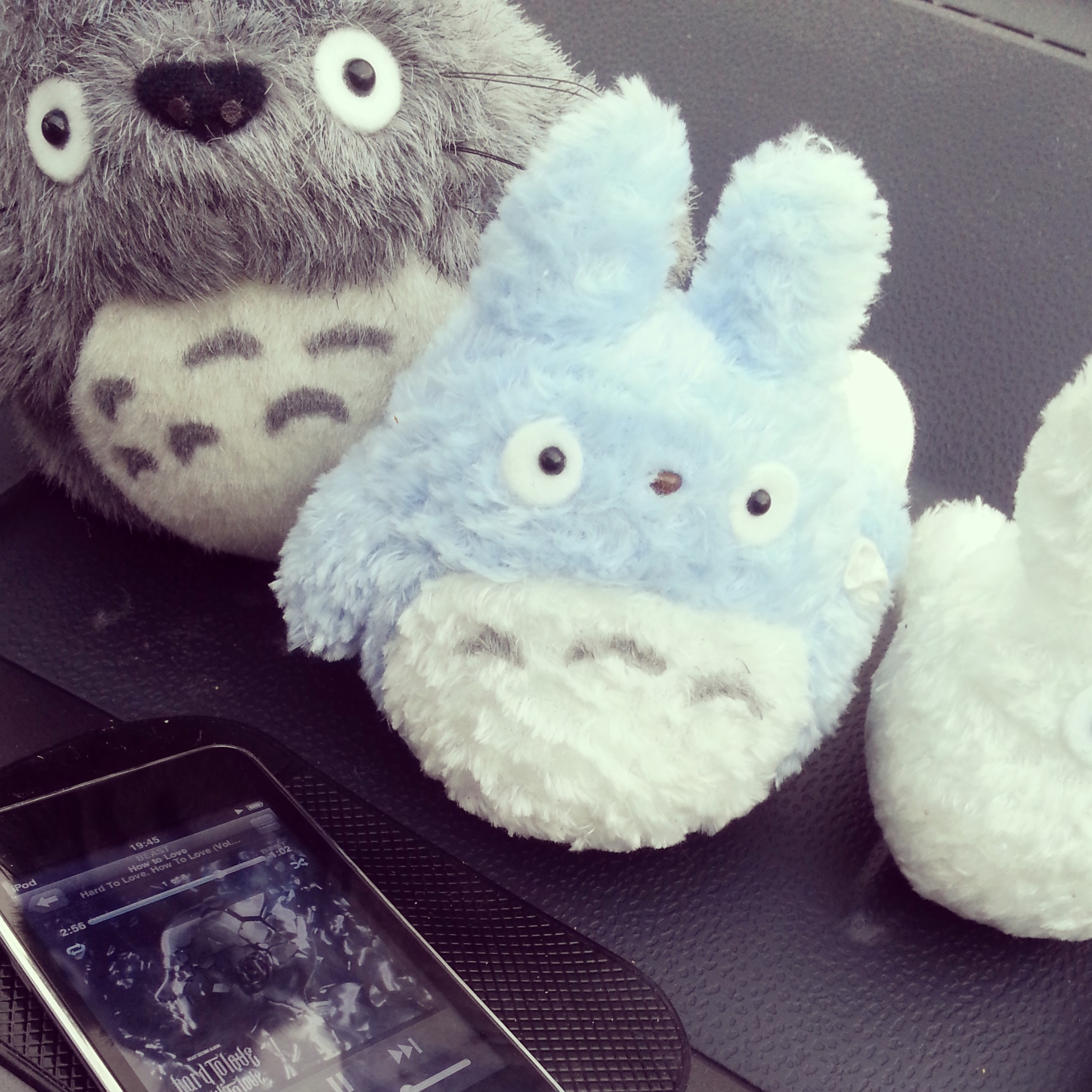 Daisybutter - UK Style and Fashion Blog: totoro plushies, driving, summer driving playlist, beast hard to love how to love