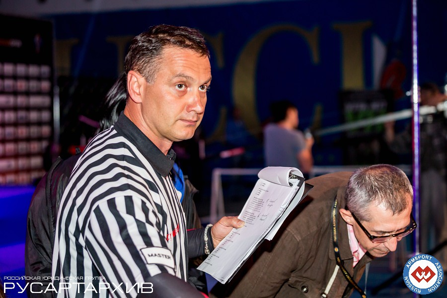 Andrey Mosolov - Head Referee for A1 RUSSIAN OPEN 2013 │ A1 RUSSIAN OPEN 2013, Photo Source: armsport-rus.ru