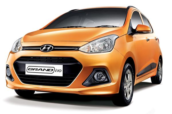 Hyundai Grand i10 Front Quarter Left